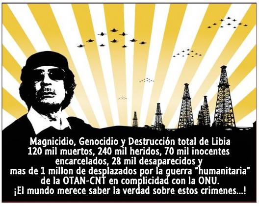 ESTADOS UNIDOS CREÓ A AL QAEDA, Y PAGA PARA QUE LE HAGAN EL TRABAJO - Página 2 Gadafi+y+petroleo+libio