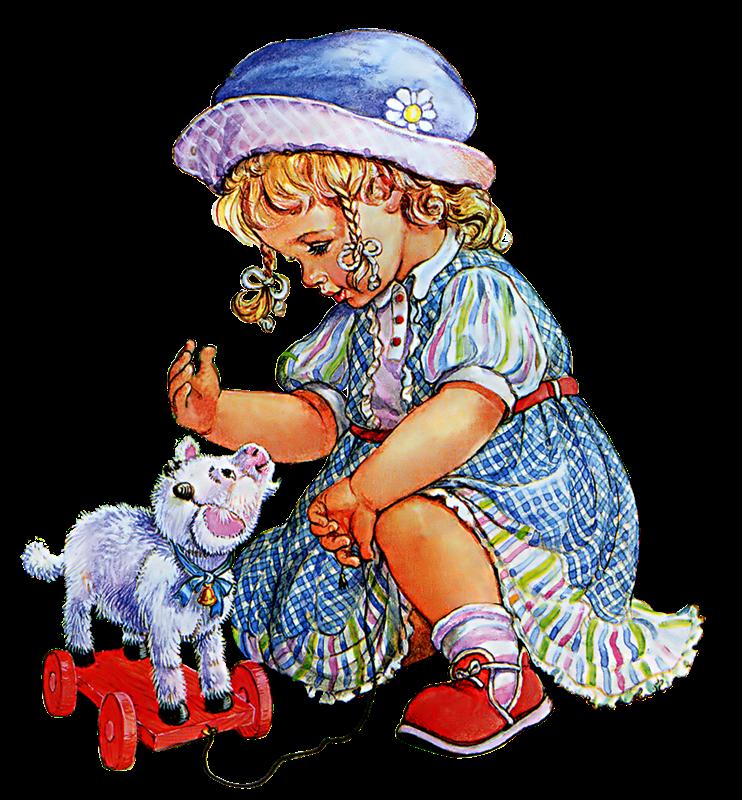 menina com ovelha