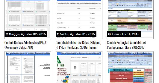 Download Kumpulan Aplikasi Dan Administrasi Kelas Guru