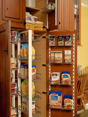 My home design kitchen storage ideas 2011 for Additional kitchen storage ideas