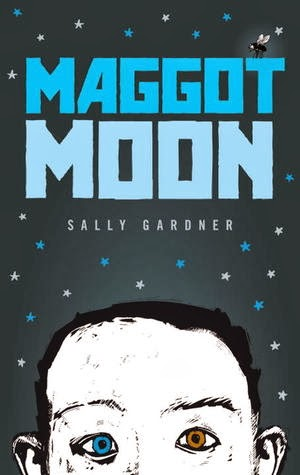 Maggot Moon, a Printz Honor Book, about a dyslexic kid set in a surreal dystopian 1950s setting is bizarre, weird, and frustrating at times.  Alohamora Open a Book http://alohamoraopenabook.blogspot.com/