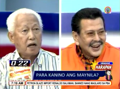 Alfredo Lim and Erap Estrada 'Word War' Hot Topic on Social Networking Sites