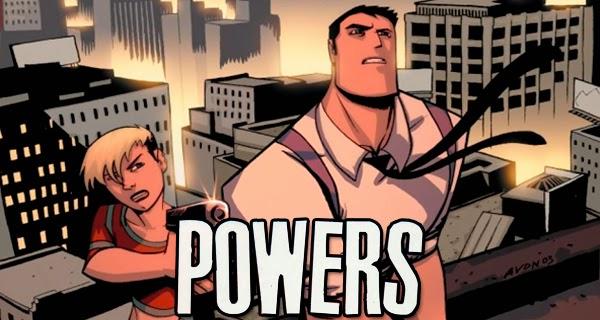 Primera imagen oficial de la serie Powers