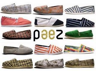Paez es una marca argentina que realiza alpargatas de diseño tan brutales, que arrasan por allá donde pasen. Desafortunadamente, si las vemos como regalo