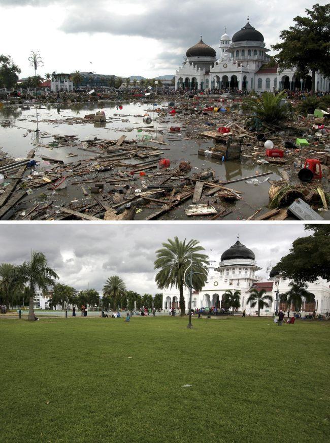 Gambar Terkini Aceh Selepas 10 Tahun Tragedi Tsunami
