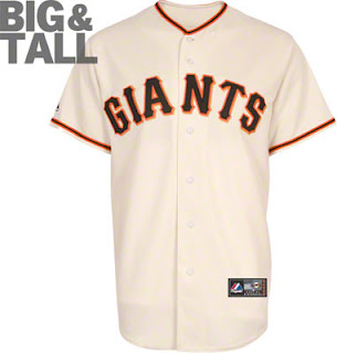 Big and Tall San Francisco Giants Home White Jersey