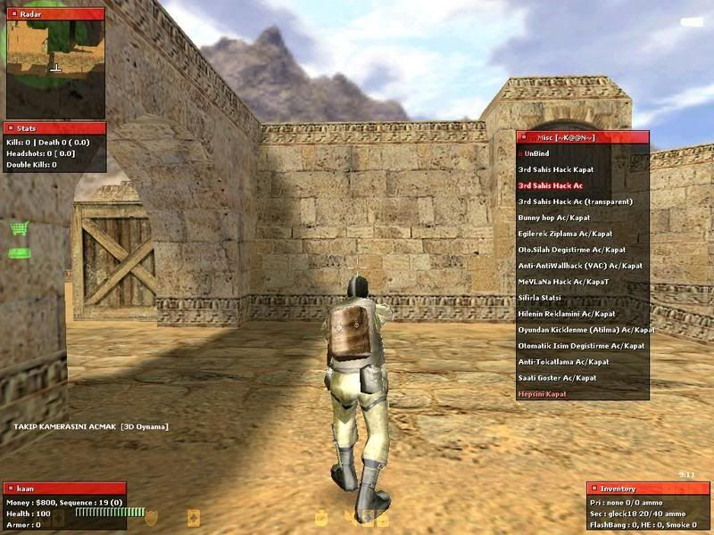 Cheats for Counter Strike Multiplayer | It Still Works