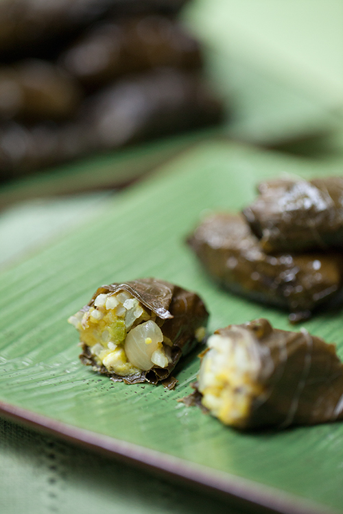 Grape leaves have been used in Greek cooking for millennia. In ancient ...