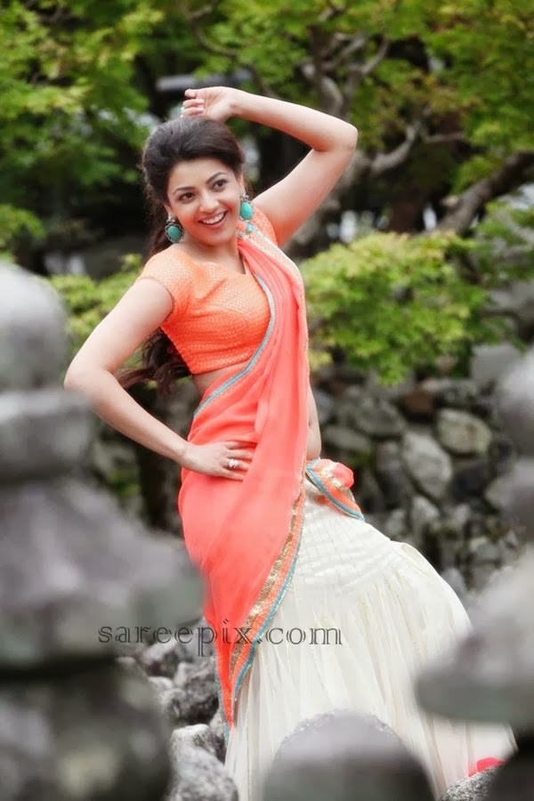 Kajal Aggarwal in Saree photos - YouTube