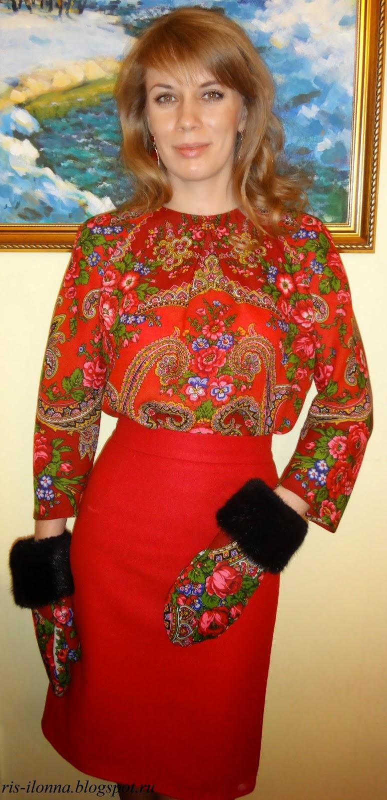 Блуза своими руками из платка МирТесен - рекомендательная социальная сеть 82