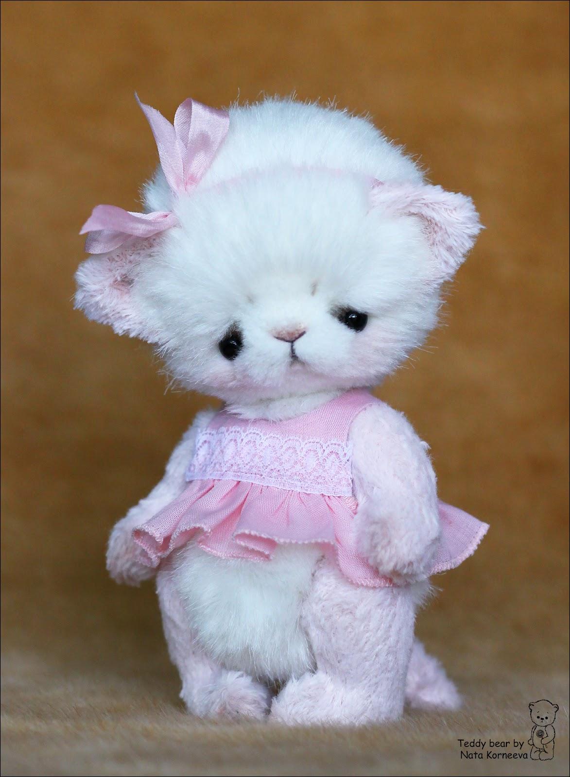 Мягкая игрушка пушистый котенок своими руками