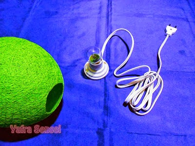 Asiknya Membuat Lampion Cantik dari Balon 9