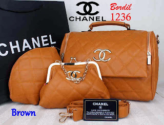 Tas Chanel Bordir Yoyo Model Terbaru