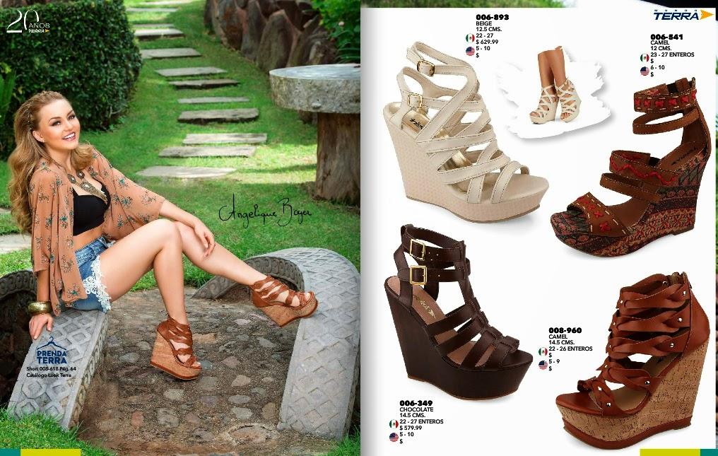 Catalogos online catalogo zapatos mundo terra 2015 calzados for Catalogos terra