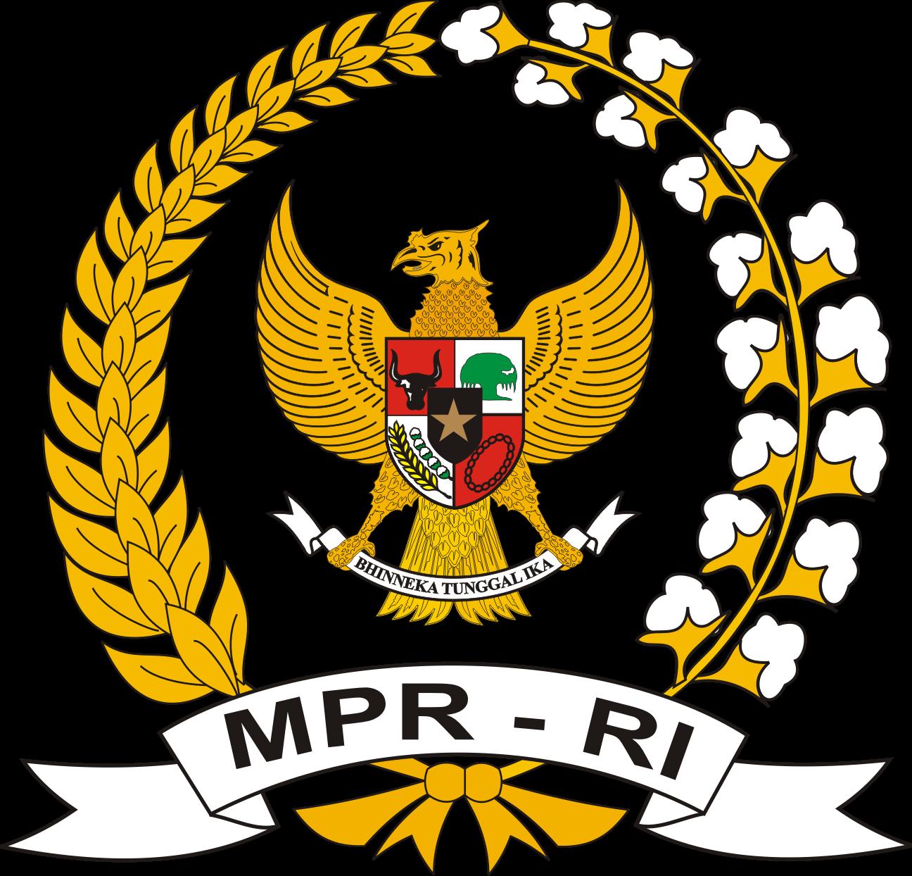 logo dpr mpr dan dpd ri kumpulan logo indonesia