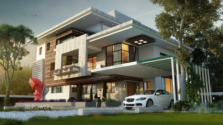 Ultra modern home designs home designs architectural for Architecture design for home in mysore