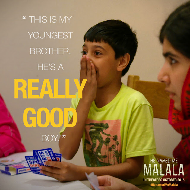 Malala on Family #HeNamedMeMalala