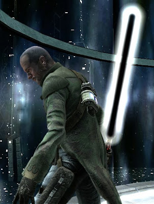 Black Light saber Star Wars The Force Unleashed