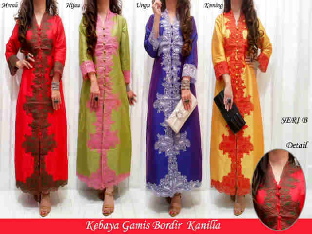 Vielia Olshop Model Kebaya Bordir
