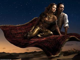 Jennifer Lopez and Marc Anthony in Arabian Night