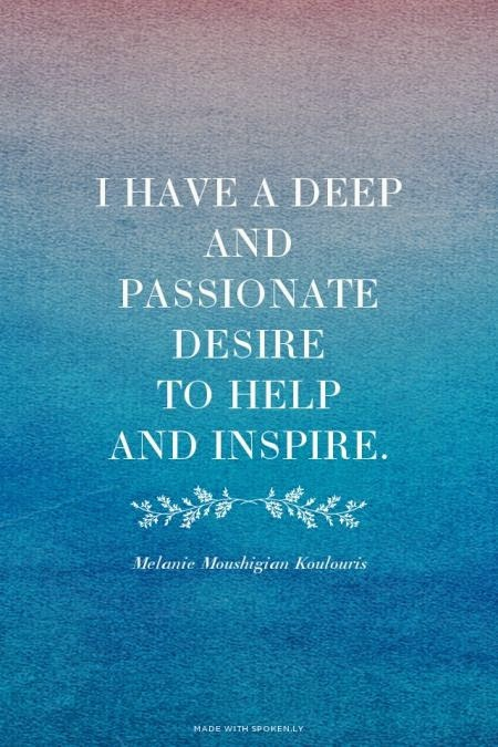 Image of: Deep Thoughts Positive Inspirational Quotes Positive Inspirational Quotes Have Deep And Passionate Desire