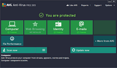 2013 04 02 201206 Download AVG Free Edition 2013 offline installer 32&64 bit