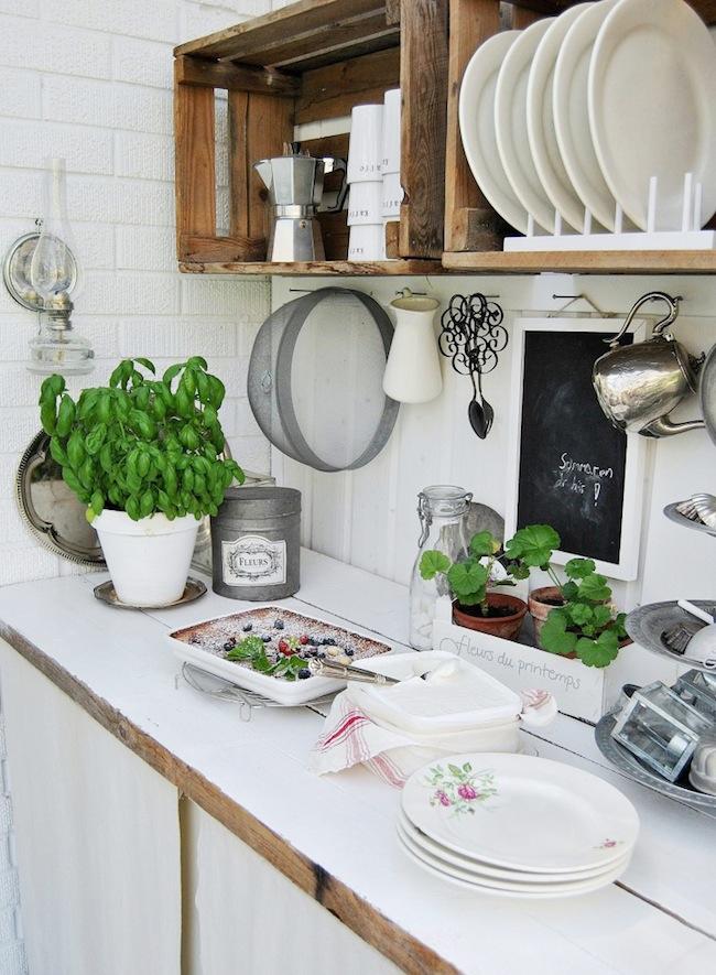 Las 10 mejores decoraciones de exterior decoraci n - Nuevos materiales para encimeras de cocina ...
