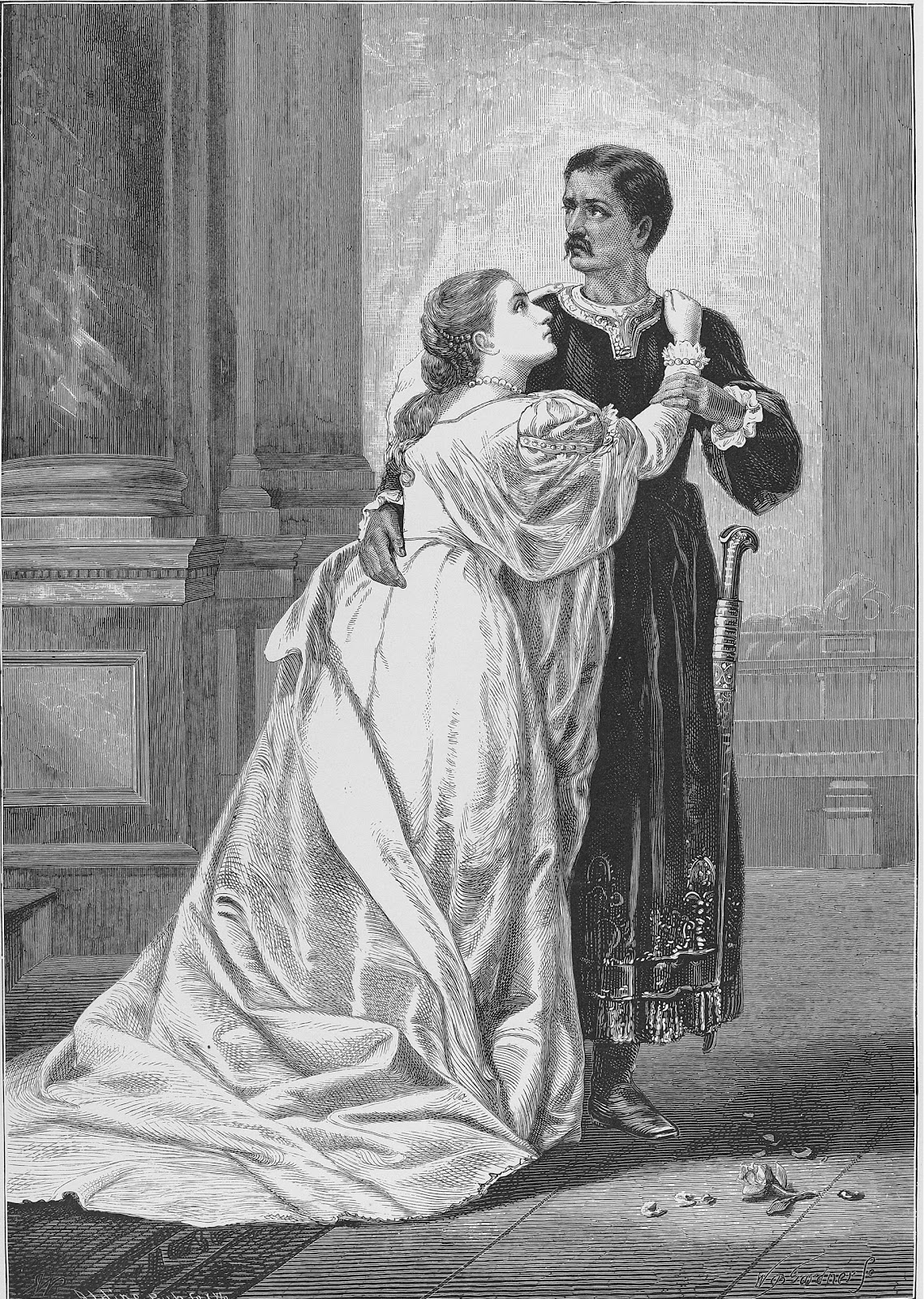 the submissive and profound women in othello by william shakespeare Othello act 5 scene 2 william shakespeare  do with so good a woman othello  of consummate art in the keeping up of appearances with the profound workings of.