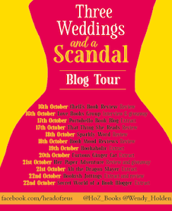 Blog Tour - Three Weddings and a Scandal