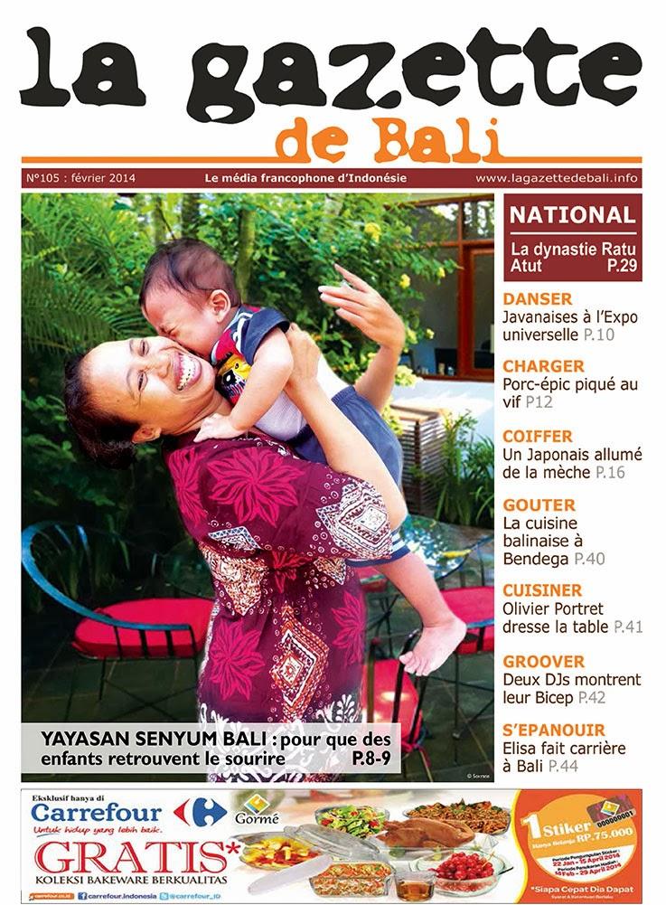 La Gazette de Bali février 2014
