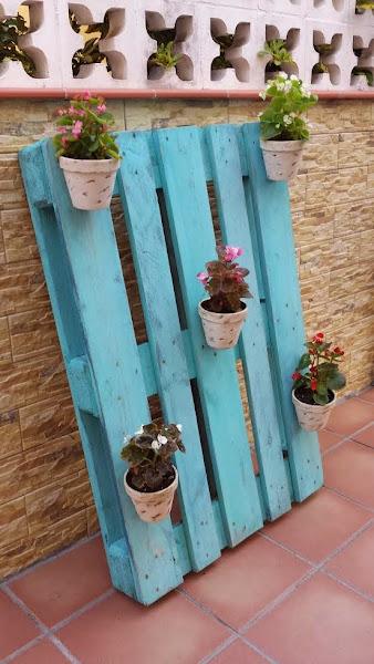 Decoracion para el jardin aprender manualidades es for Jardin vertical con palets