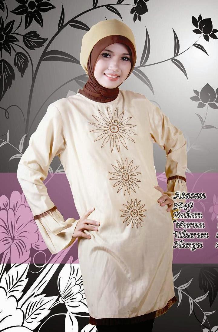 Model baju muslim salah satu model baju muslim yang saat ini sedang