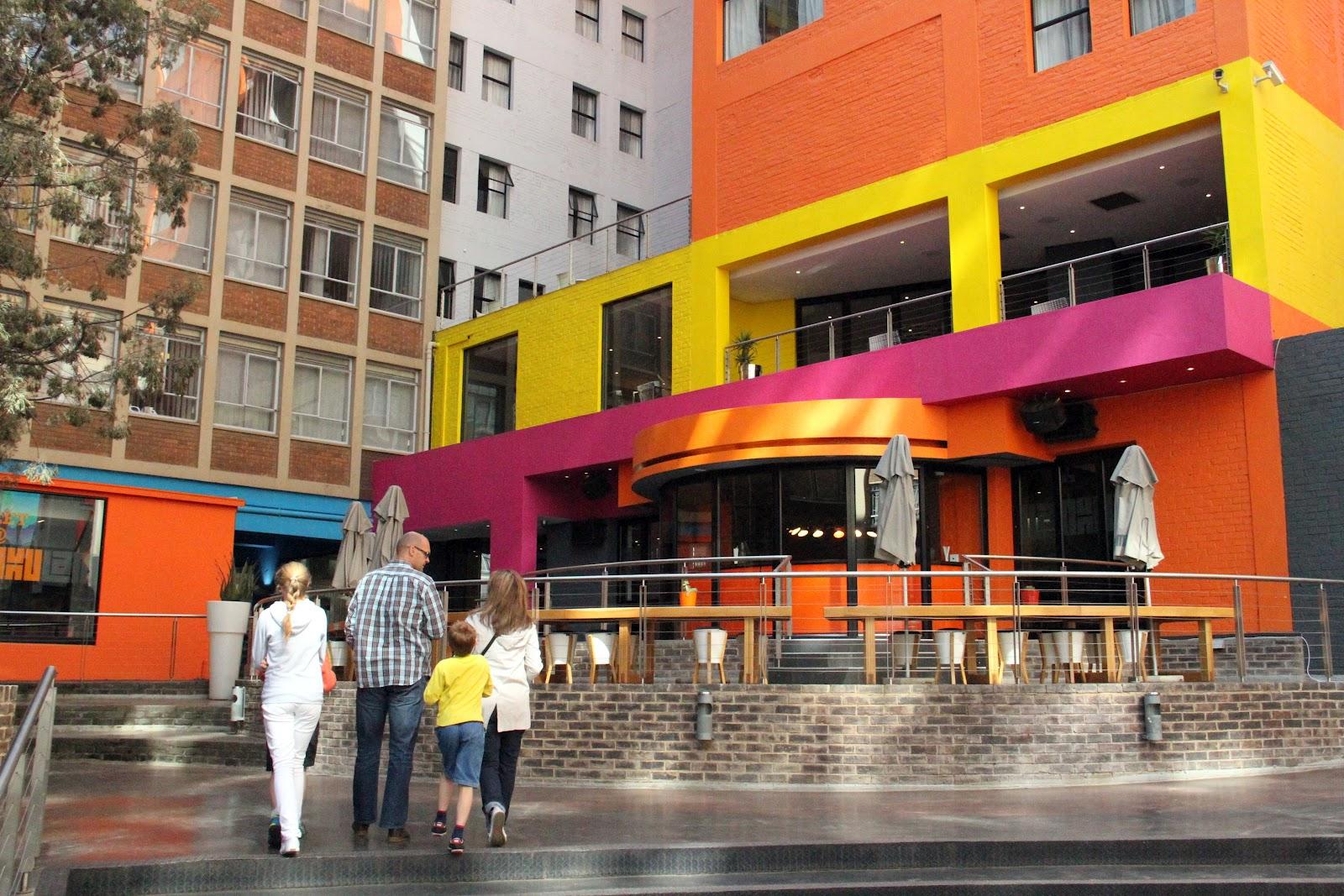Under our own olive tree hotel lamunu in braamfontein for African cuisine braamfontein