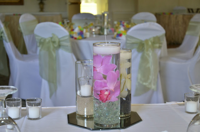 Simple but Elegant Wedding Centerpieces