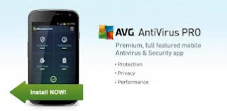Free Download AVG Mobile AntiVirus Security PRO