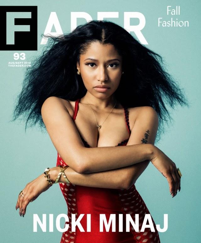 Nicki Minaj nueva portada de Fader Magazine