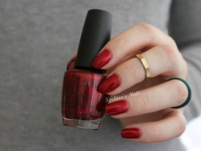 OPI Mariah Carey Christmas Collection 2013 In My Santa Suit