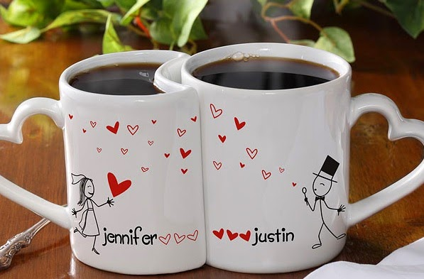 valentines day gift ideas: coffee mugs