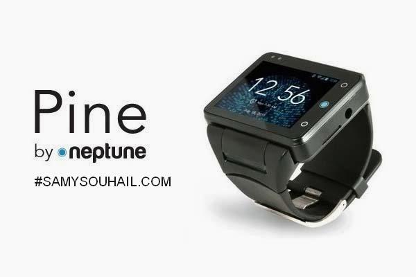 ساعة Pine الذكية تعمل بنظام أندرويد مع إمكانية تركيب شريحة اتصالات