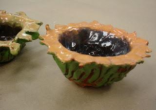 mrs knight s smartest artists sunflower pinch pots