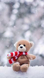 Wallpaper cantik teddy bear untuk Hp android