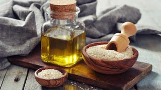 Aceite de sésamo para hidratar la piel