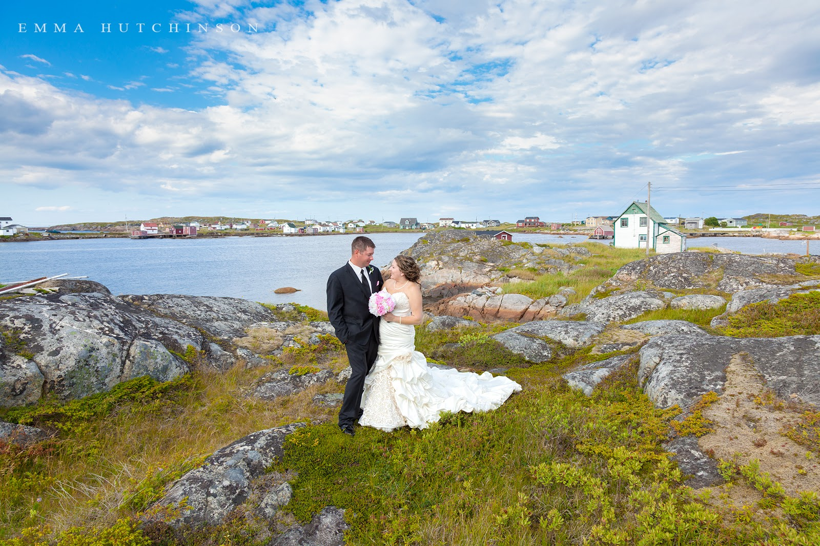 Weddings in Tilting, Fogo Island photographed by Emma Hutchinson Photography