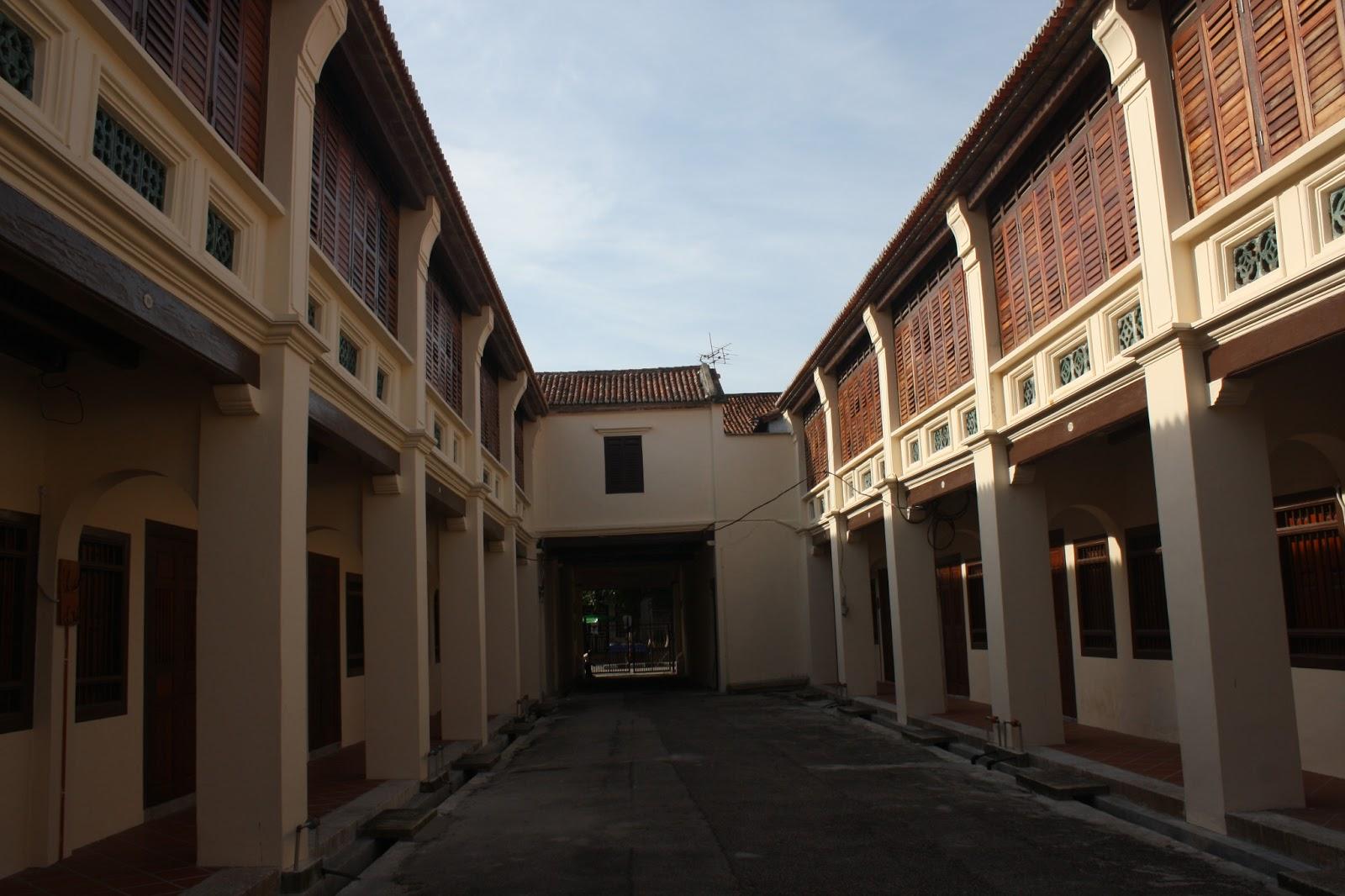 Jalanjalan khoo kongsi penang for Terrace 9 penang
