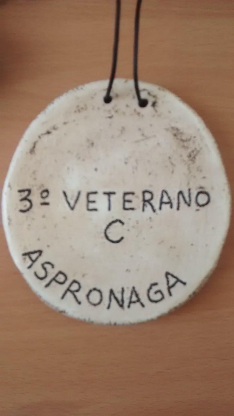 II Aspronaga 2015, 3º cat