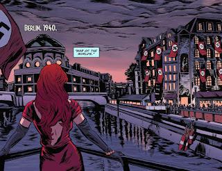 Page 4 of DC Comics Bombshells #13 featuring Kate Kane aka Batwoman