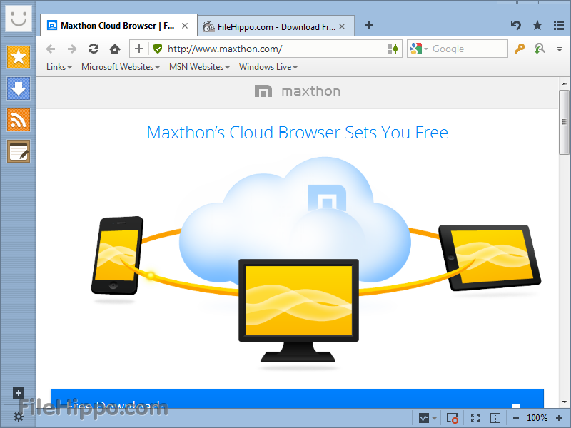 Maxthon Cloud Browser 4.1.2.1600 Beta