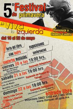 5Festival de primavera Viva la Izquierda Tláhuac 2011