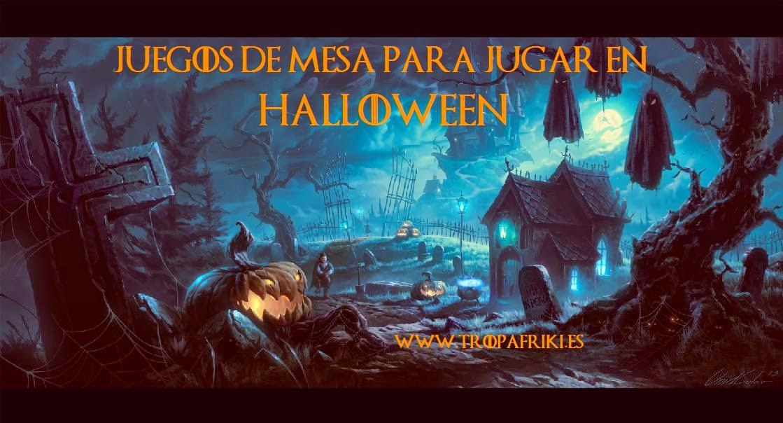 juegos de mesa para jugar en halloween