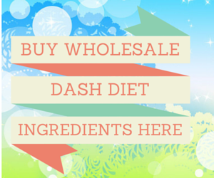 Dash Diet Wholesale Shopping
